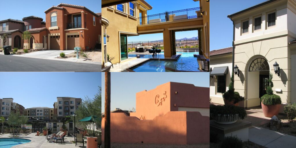 residential plastering projects completed by Power House, a stucco company